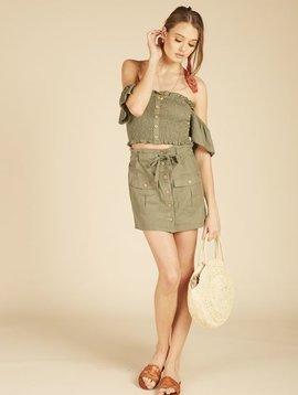 Vintage Haviana Cargo Mini Skirt