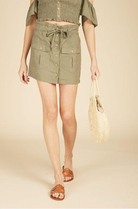 Vintage Havana Cargo Mini Skirt