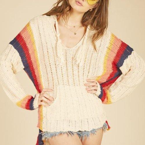 Vintage Havana Retro Stripe Sweater Baja