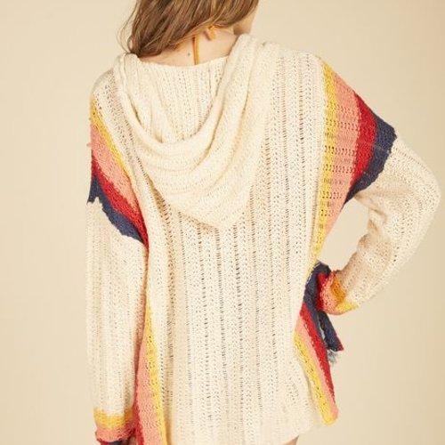 Vintage Haviana Retro Stripe Sweater Baja