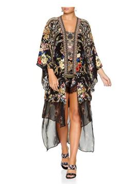 Camilla Kimono w Long Underlay