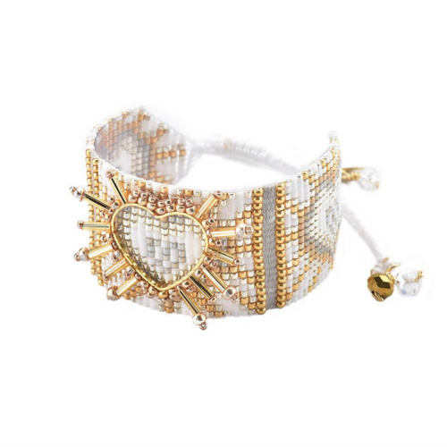 Mishky Shining Heart Bracelet