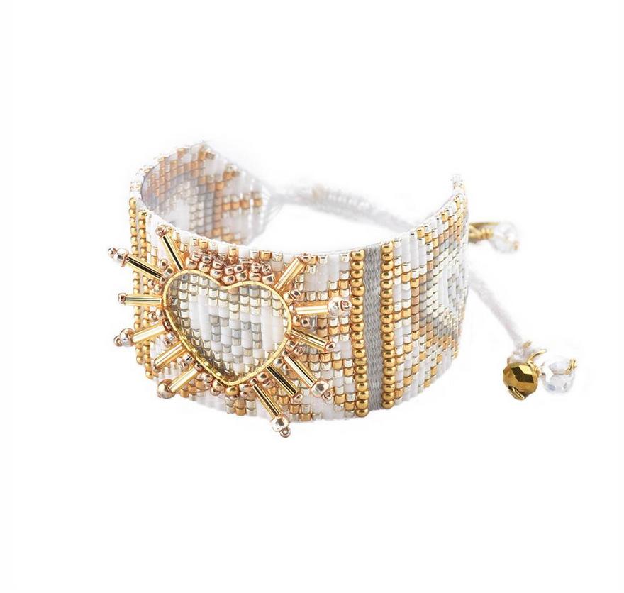 regarder 3fd65 836a6 Mishky Shining Heart Bracelet