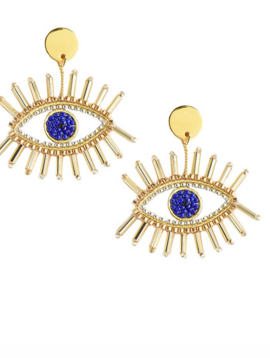 Mishky Golden Eye Earring