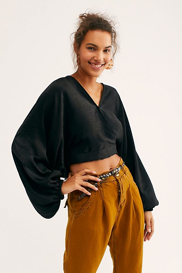 Free People Midnight Vibes Blouse