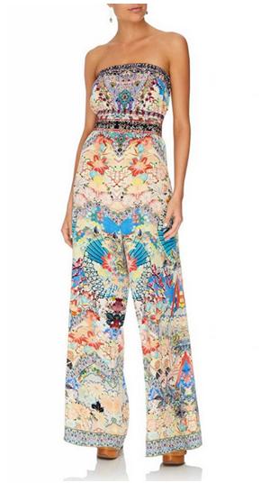 Camilla Strapless Jumpsuit W/ Jkt Belt