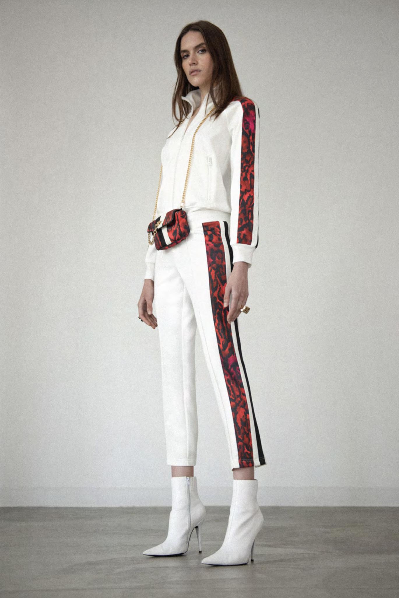Pam & Gela Ocelot Stripe Track Jacket