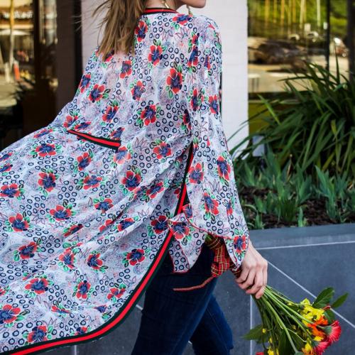 Meet Me In Miami Long Kimono
