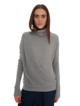 Maison de Papillon Lauren Layered Cashmere Sweater