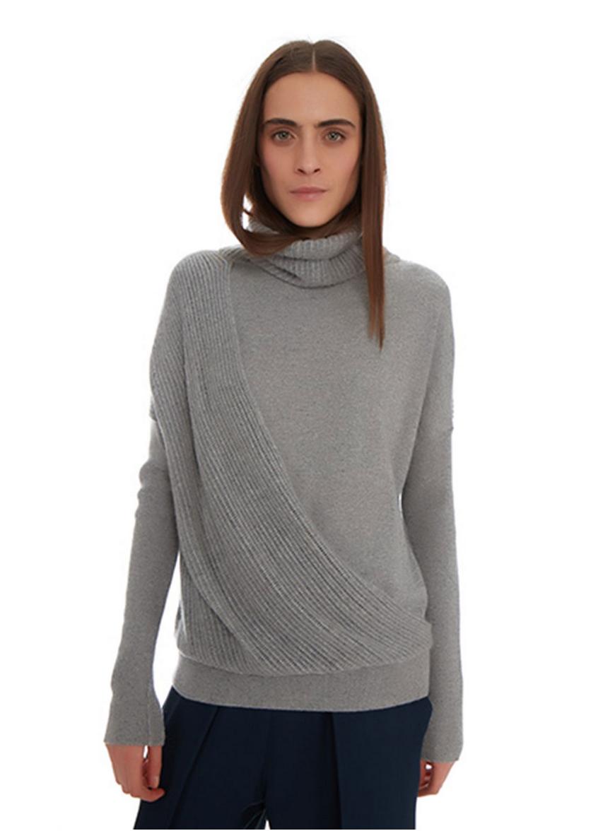 Maison de Papillon Lauren Layered Cashmere Sweater