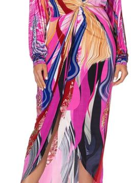 Camilla Twist Front Dress