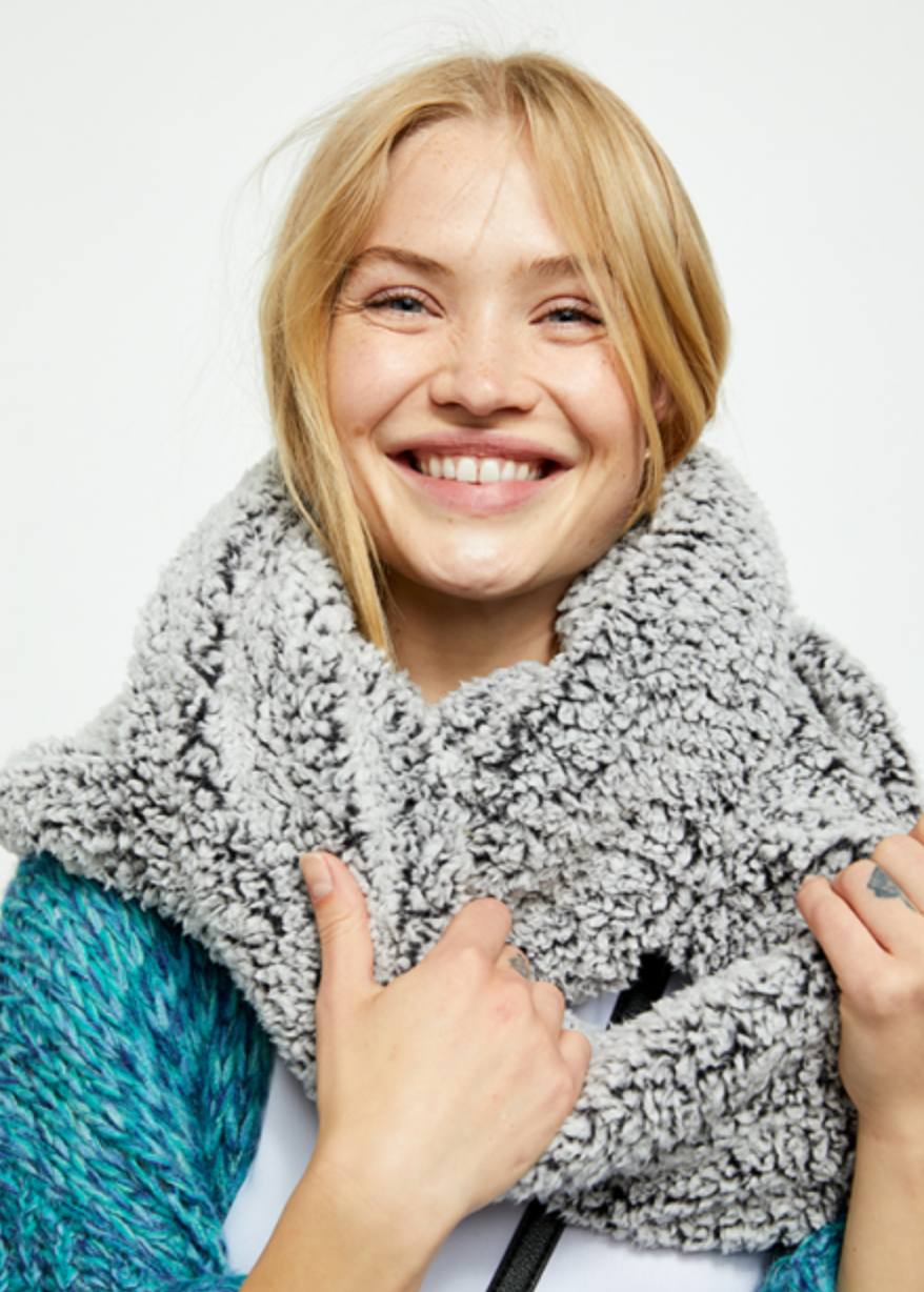 Free People  Cloud Nine Double Loop Scarf
