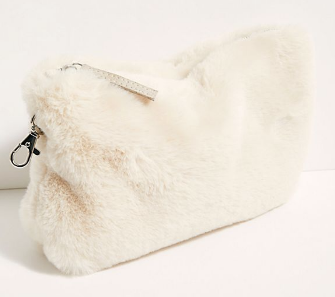 Free People Faux Fur Essential Pouch