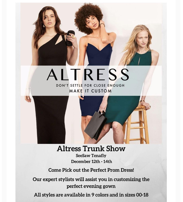 Altress Dress Trunk Show