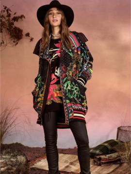 Camilla Parka Jacket w/ Rib