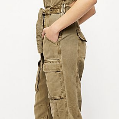Free People Free People Go West Utility Jumpsuit