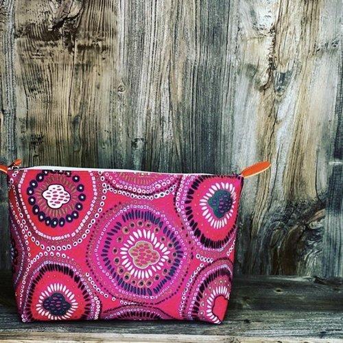 Pink Lemon Pink Lemon Tribal Print Bag