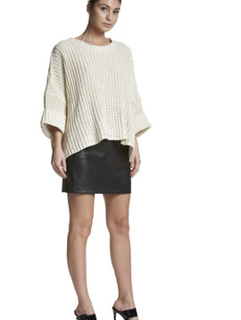 Sen Oversized Knit Sweater