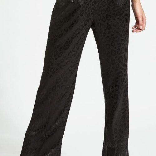 Sen Leopard Print Tuxedo Pant