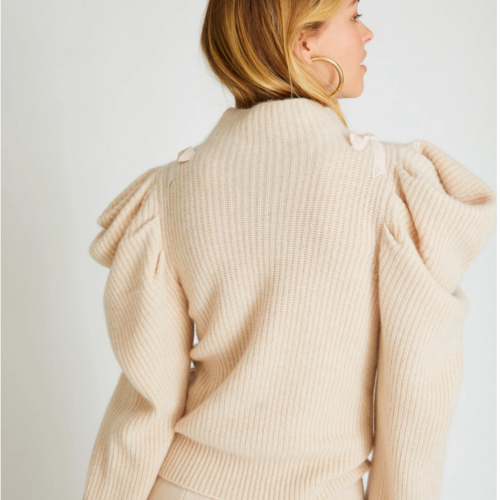 Love Shack Fancy Potter Cashmere Pullover