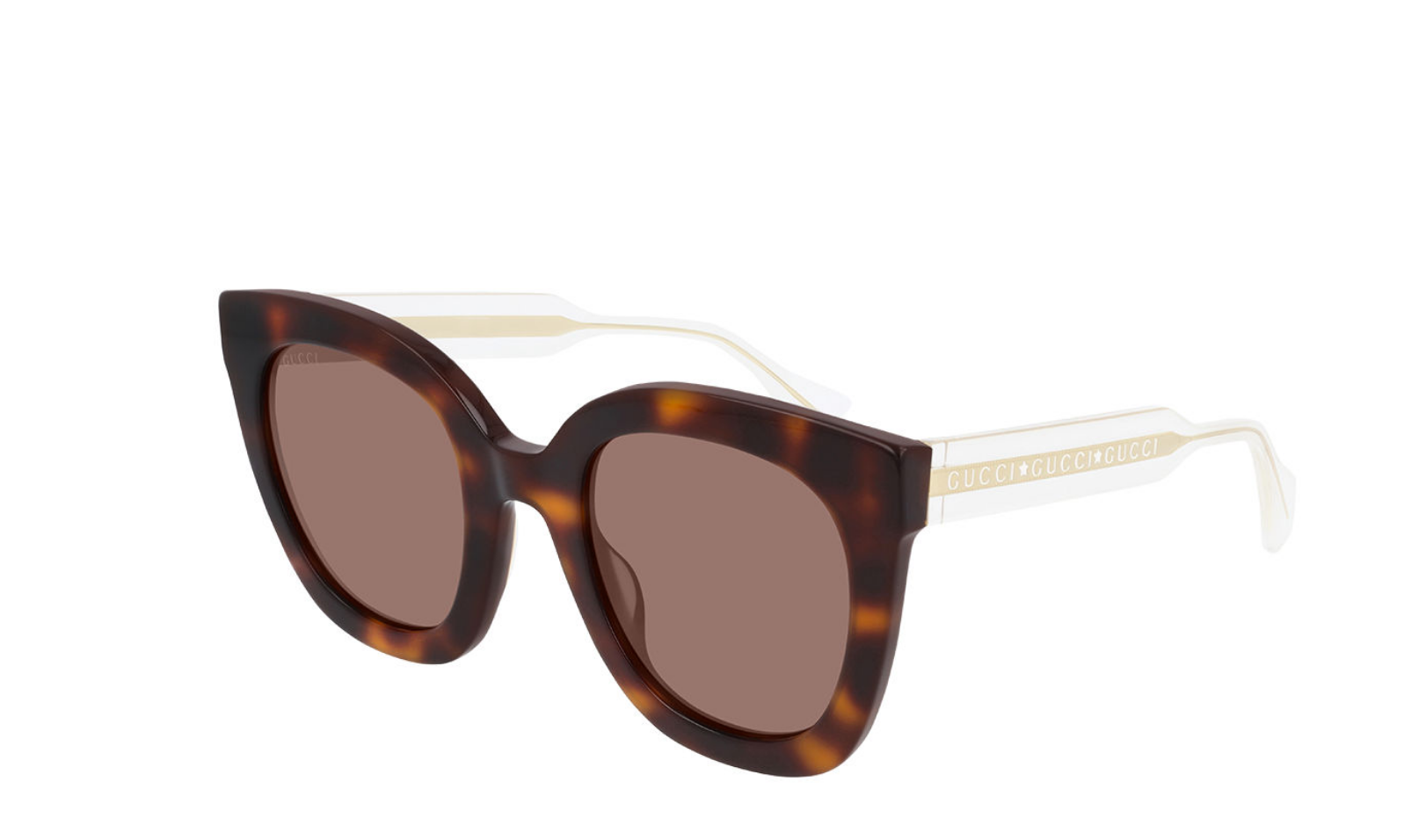 Gucci Gucci Colorblock Acetate Square Sunglasses