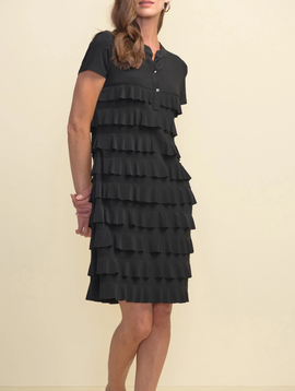 Joseph Ribkoff LDS Dress Ruffle