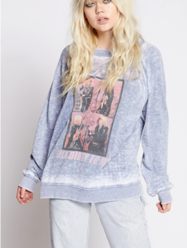 Recycled Karma Poison Talk Dirty LS Sweatshirt