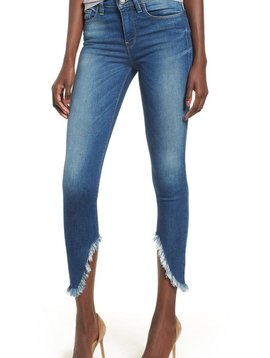 Hudson Nico Midrise Super Skinny Crop Jean