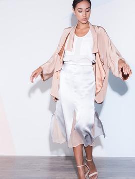 CATHERINE GEE Blush Kimono