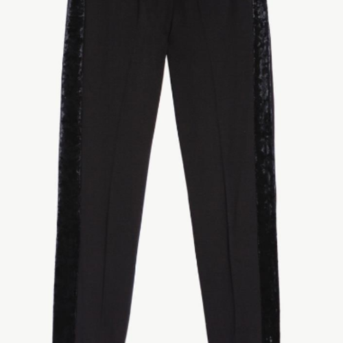 TwinSet Nero Woven Trousers