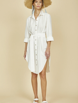Hunter Bell NYC Rollins Shirt-Dress