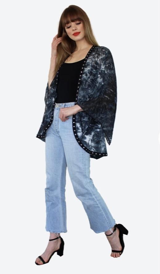 Meet Me In Miami Short Kimono