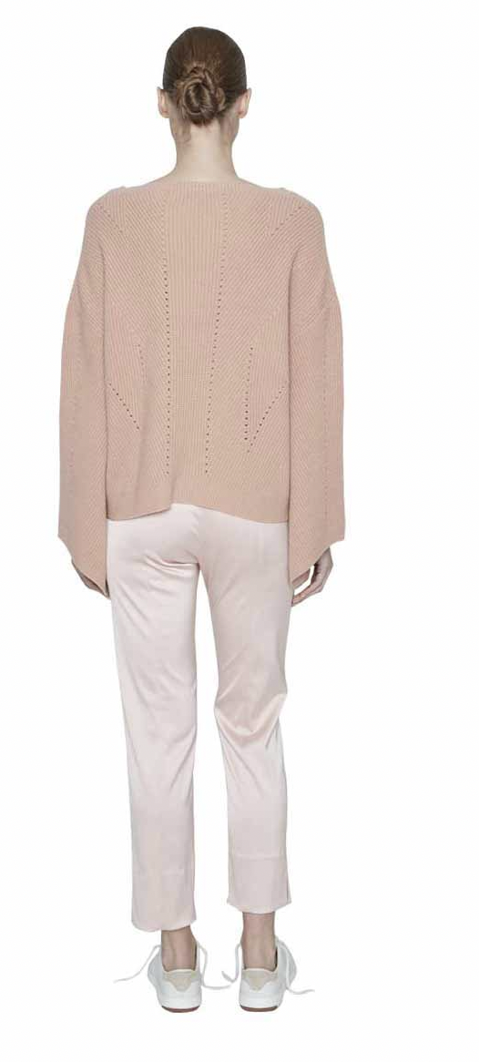 Maison de Papillon Samantha Angel Sleeve Cashmere Pullover