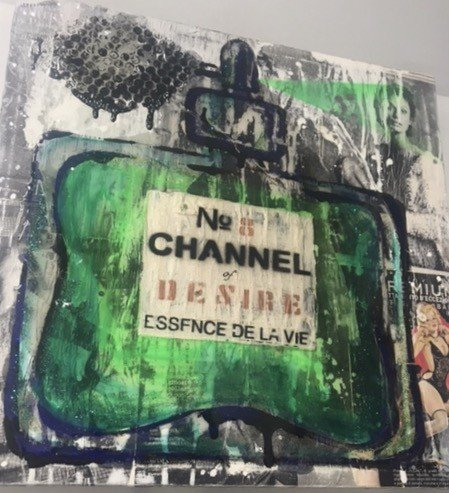 CHANNEL 50X50cm