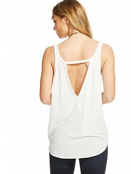 Chaser Linen Jersey Scoop Neck