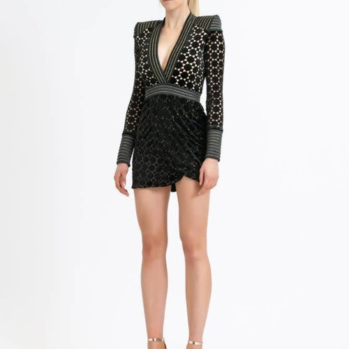 ZHIVAGO Shadow Lounge Mini Dress