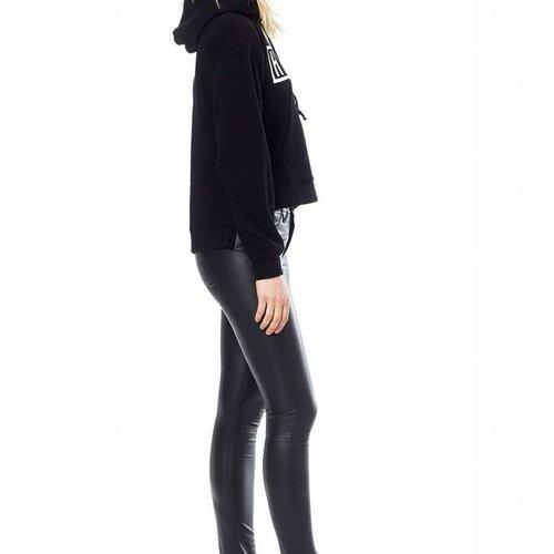 Hudson Barbara Leather High Rise Super Skinny