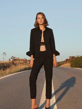 Liana Camba Pique Trousers