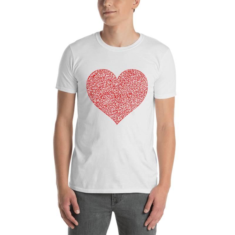 MARCO SANTINI White One Love T-Shirt