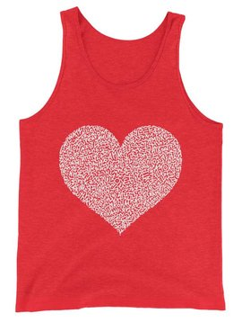 MARCO SANTINI Pink One Love Tank