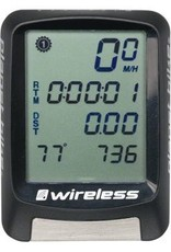 Planet Bike Protege 9.0 Wireless Computer: Nine Function: Black