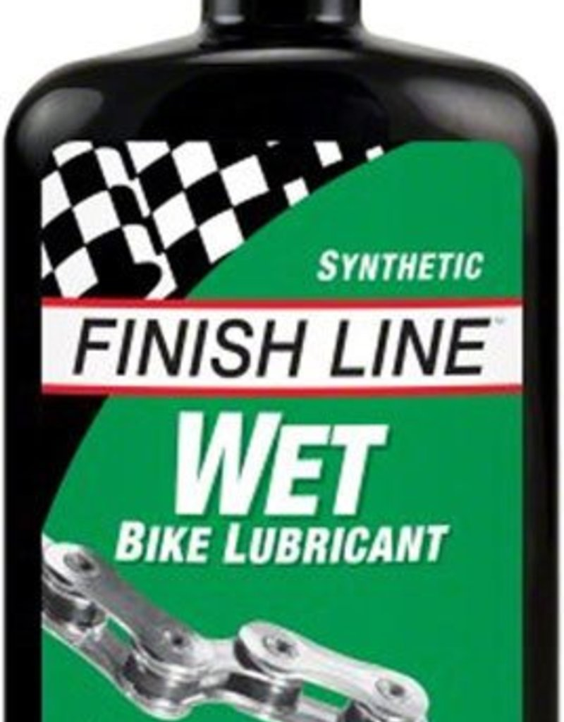 Finish Line WET Lube 4oz Drip