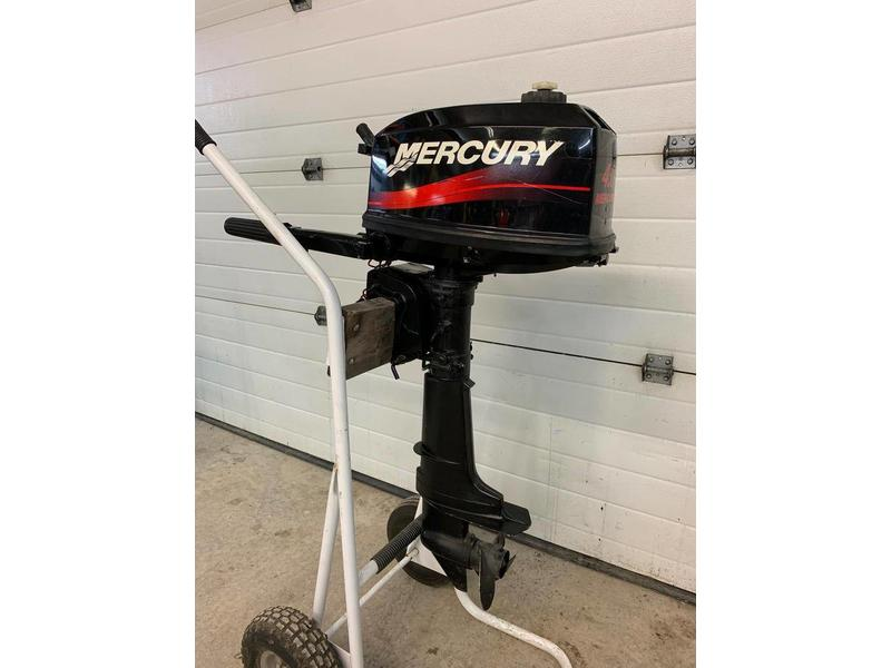 Used Outboard 4 HP Mercury Outboard - Used