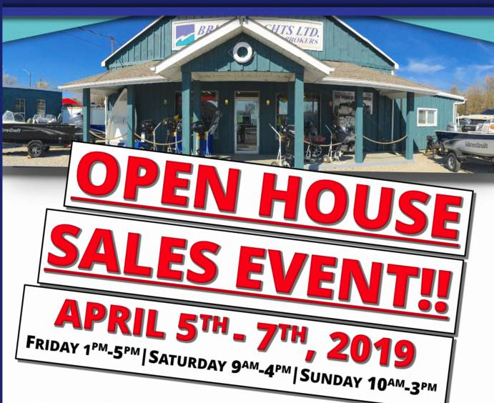 2019 Open House  Sales Event
