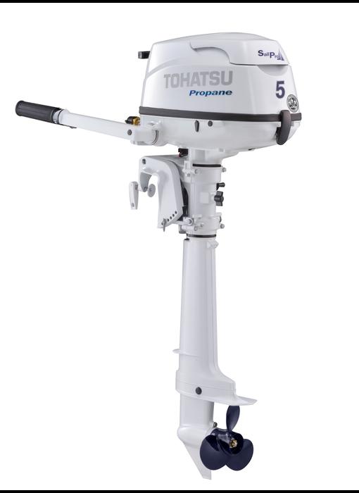 TOHATSU 5 HP Propane Outboard