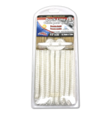 "1/2"" Dock Line White, 25FT Double Braid"