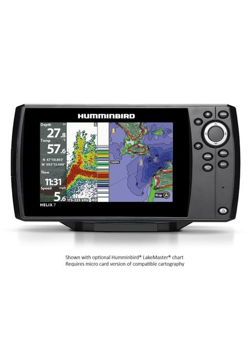 Humminbird Helix 7 CHIRP GPS G2 w/ Nav+ Card