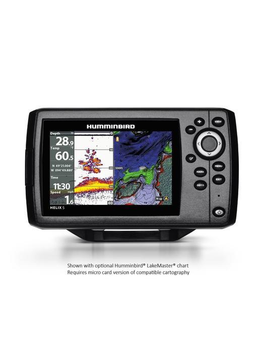 Humminbird Helix 5 CHIRP GPS G2 w/ Nav+ Card