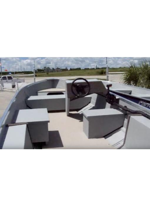 MirroCraft Utility V Steering Console Helm