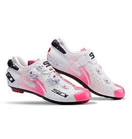 Sidi Sidi Shoes Wire Air Vent Carbon Women White/Pink Fluo
